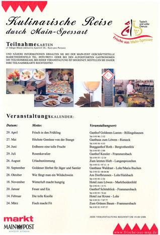 Kulinarische Reise 2005/06