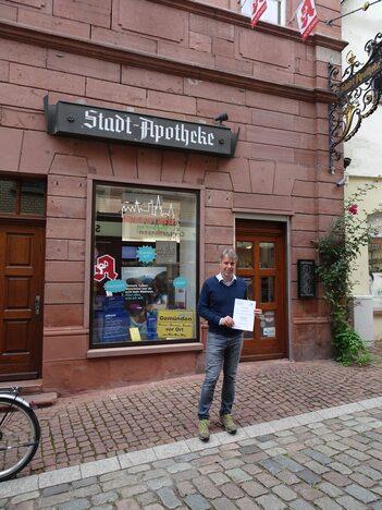 Stadt Apotheke Urkunde