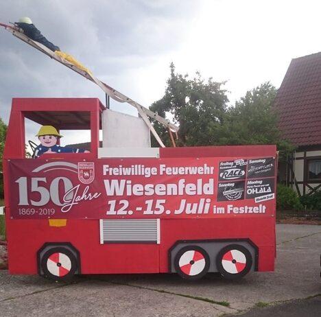 FFW Wiesenfeld 150 Jahre
