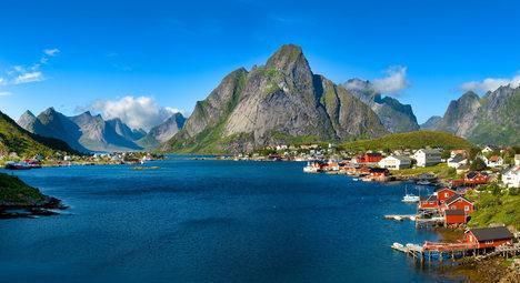 Norwegen-Reine