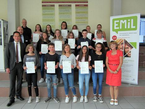 EMiL Zertifikatsuebergabe Lohr