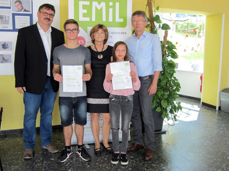EMiL Zertifikatsuebergabe Eussenheim