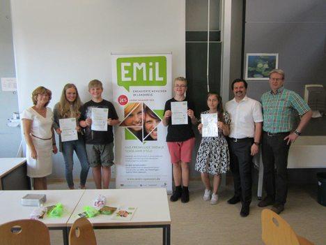 18-07-24 Foto EMiL Zertifikatsübergabe Frammersbach
