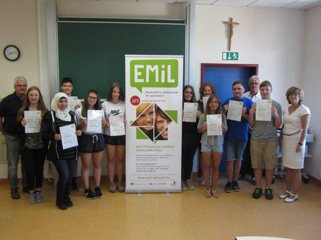 18-07-27 Foto EMiL Zertifikatsübergabe Burgsinn