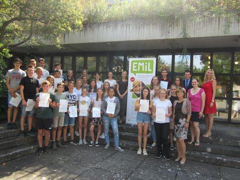 18-07-31 Foto EMiL Zertifikatsübergabe Arnstein