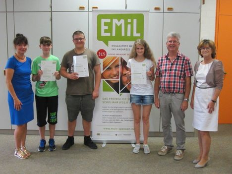 18-07-31 Foto EMiL Zertifikatsübergabe Zellingen