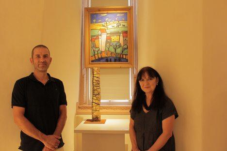 18-08-08 Foto Fortsetzung und Eröffnung Kunst im Turm Spessartmuseum