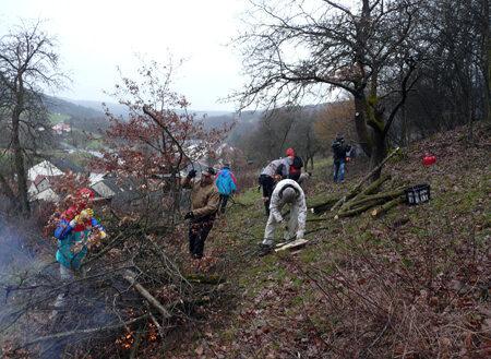 Entbuschung Grünlandprojekt (Christian Salomon)