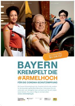 Plakat Bayern kremelt die Ärmelhoch 1