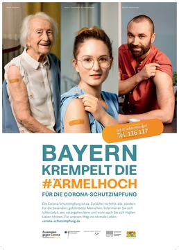Plakat Bayern kremelt die Ärmelhoch 2