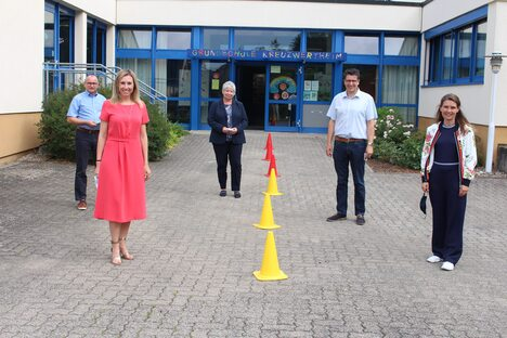 20-07-20 Grundschule Kreuzwertheim Gruppenbild 1