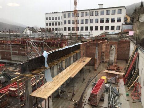 Baustelle FLG