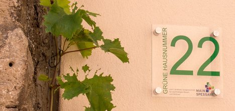 Grüne Hausnummer MSP 4