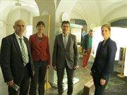Eröffnung mit Bürgermeister Jürgen Lippert und Landrat Thomas Schiebel