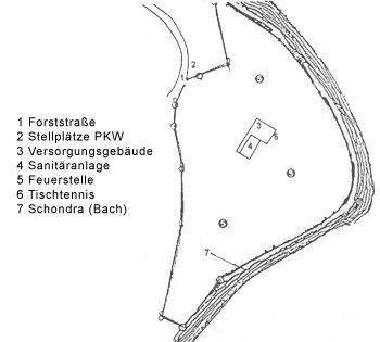 Jugendzeltplatz Detter im Schondratal