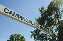 Campingplatz Mainufer Lohr Schild