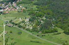 Camping Schönrain Luftbild